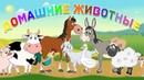Как говорят домашние животные Учим домашних животных. Видео для детей с 0 до 7 лет! Ферма.