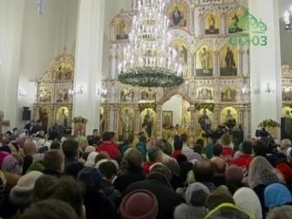 Божественная литургия в день памяти свт. Спиридона Тримифунтского