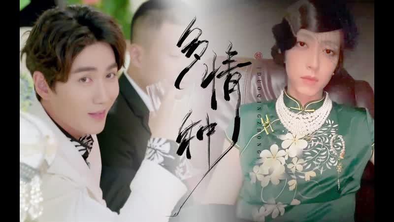 • Fan made l • Ло Фушен Шанхайская дикая роза • l