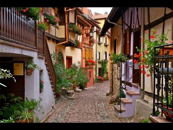Прогулка по Эгисхайму Eguisheim