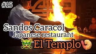 Hotel Sandos Caracol Eco Resort Restaurant El Templo Playa del Carmen Mexico