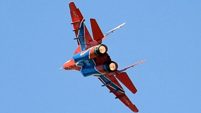 ПОЛНЫЙ ФОРСАЖ 🔥 МиГ 29 Одиночный пилотаж и посадка Авиадартс 2018