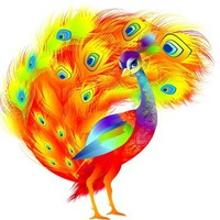 Логотип Детский развивающий журнал «Жар-птица»