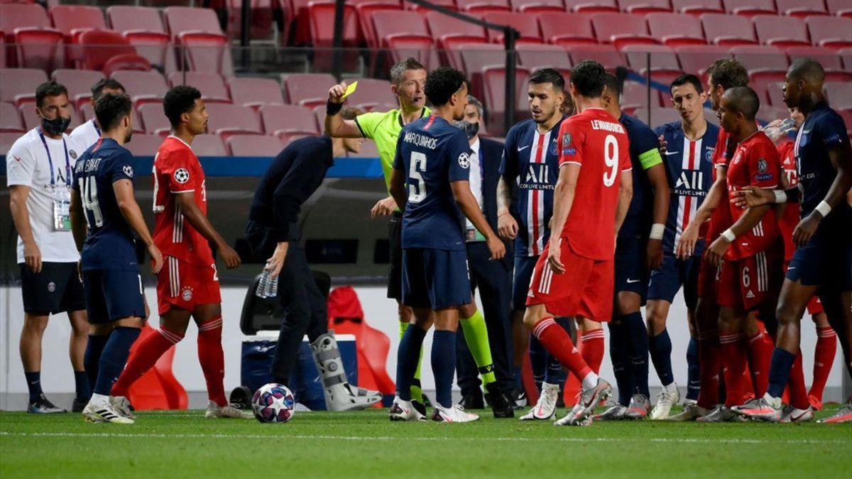 ПСЖ - Бавария, 0:1. Арбитр Даниэле Орсато