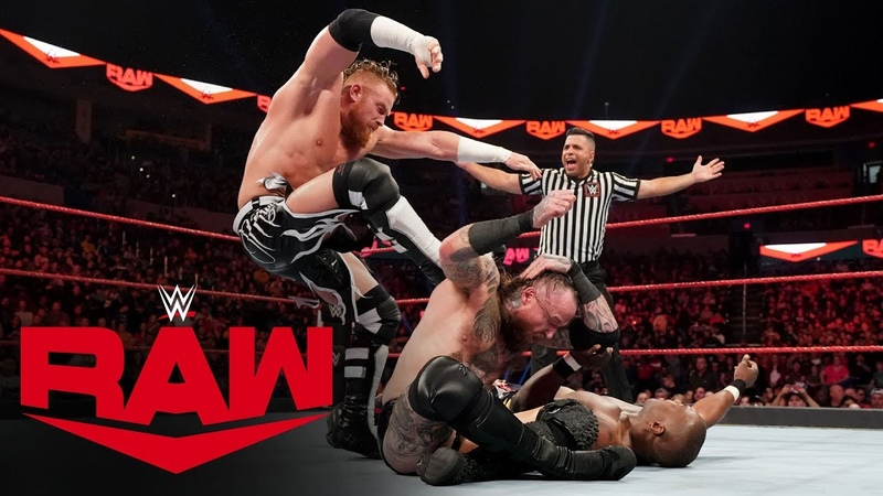 Aleister Black vs. Shelton Benjamin Raw, Jan. 6, 2020
