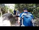 Subida da trilha do Morro do Macaco, Bombinhas-SC 1