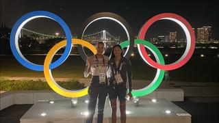 Дорога до Токио и первый день в Олимпийской деревне