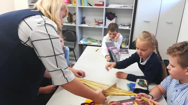 История 5 класс Наглядно разбираем ремесло на примере ткачества
