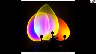 #USB-#проектор #с #радужным #закатом, #красный #светодиодный #ночник, #проекционный #Настольный