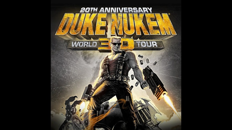 Duke Nukem 3D 20th Anniversary World Tour E4M1 Прохождение на Выкуси