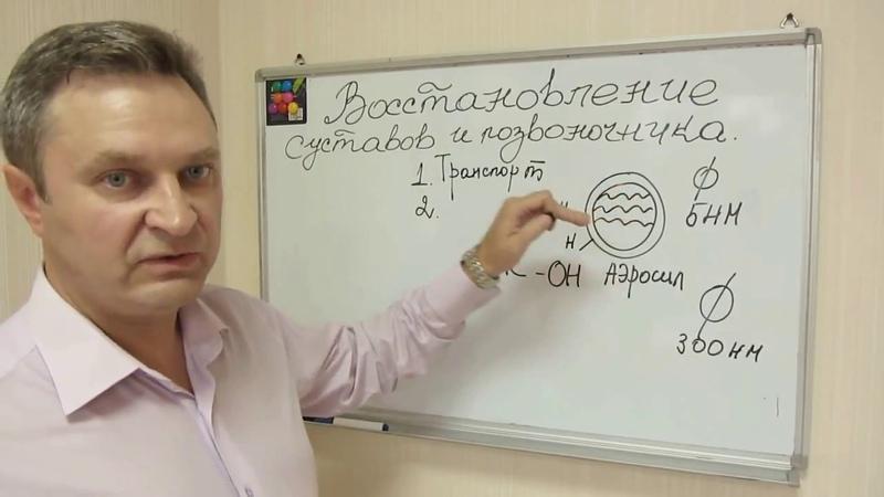 Восстановление суставов и позвоночника Силурон сок и Силурон крем Сергей Вожаков Аврора