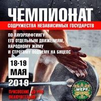 Логотип Федерация WRPF/WEPF Самарская область_Тольятти
