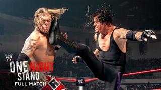 FULL MATCH - Undertaker vs. Edge - World Heavyweight Title TLC Match: WWE One Night Stand 2008