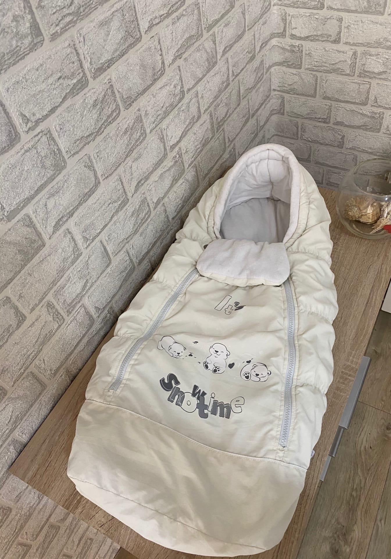 Продам очень хороший, тёплый конверт на выписку, для прогулок новорожденного малыша.