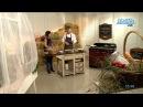 Крепы с ветчиной и моцареллой от Марии Макеевой и шеф-повара ресторана La ferme