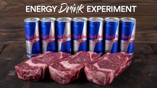 Energy Drink Marinated Steaks, Insane Experiment!