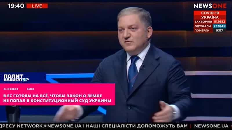 В ЕС готовы на всё чтобы закон о земле не попал в Конституционный суд Украины