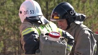 Командно-штабные учения по тушению пожара