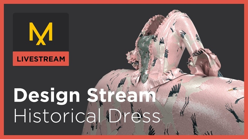 Design Stream Historic Dress 1