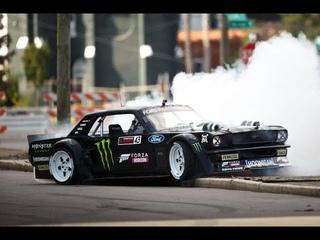 "Forza Horison 4 ,Дрифт поездка на зимнюю гору,Hoonigan Ford ""Hoonicorn"" Mustang"