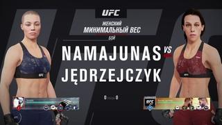 VBL 44 Strawweight Tittle Fight Rose Namanjunas vs Joanna Jedrzejczyk