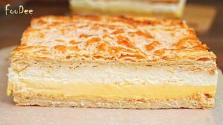 Наполеон или Карпатка? НЕТ, это торт КРЕМОВКА для ЛЕНИВЫХ любителей торта Наполеон!