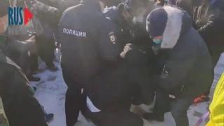 ⭕️ Замес в Хабаровске на площади Ленина