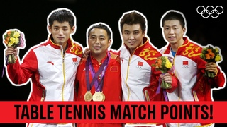 Every Winning Point in Table Tennis Finals since 1988! 🏓