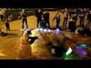 Уличные танцы в светящихся кроссовках! / Ledsneakers street dance!