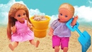 Сборник видео куклы Барби - Весёлые игры с Челси и Штеффи! - Онлайн игры для девочек.