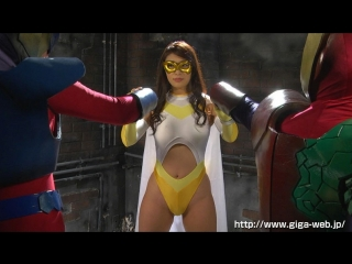 Reiko kobayakawa - супергероиня в опсаности. superheroine torture  rape vol. 68 - spandexer the mask
