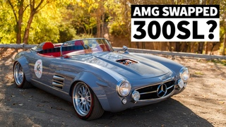 Bare Shell 300SL Built Into an AMG Swapped, Supercharged Widebody Monster. In Just FOUR Months!