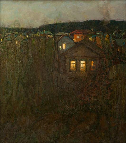 Борис Яковлевич Ряузов( 1 июля 1919- 1994) художник-пейзажист, народный художник РСФСР, член Академии художеств СССР (1988). «Я понял, что трудное дело работа над композиционно-обобщенным,