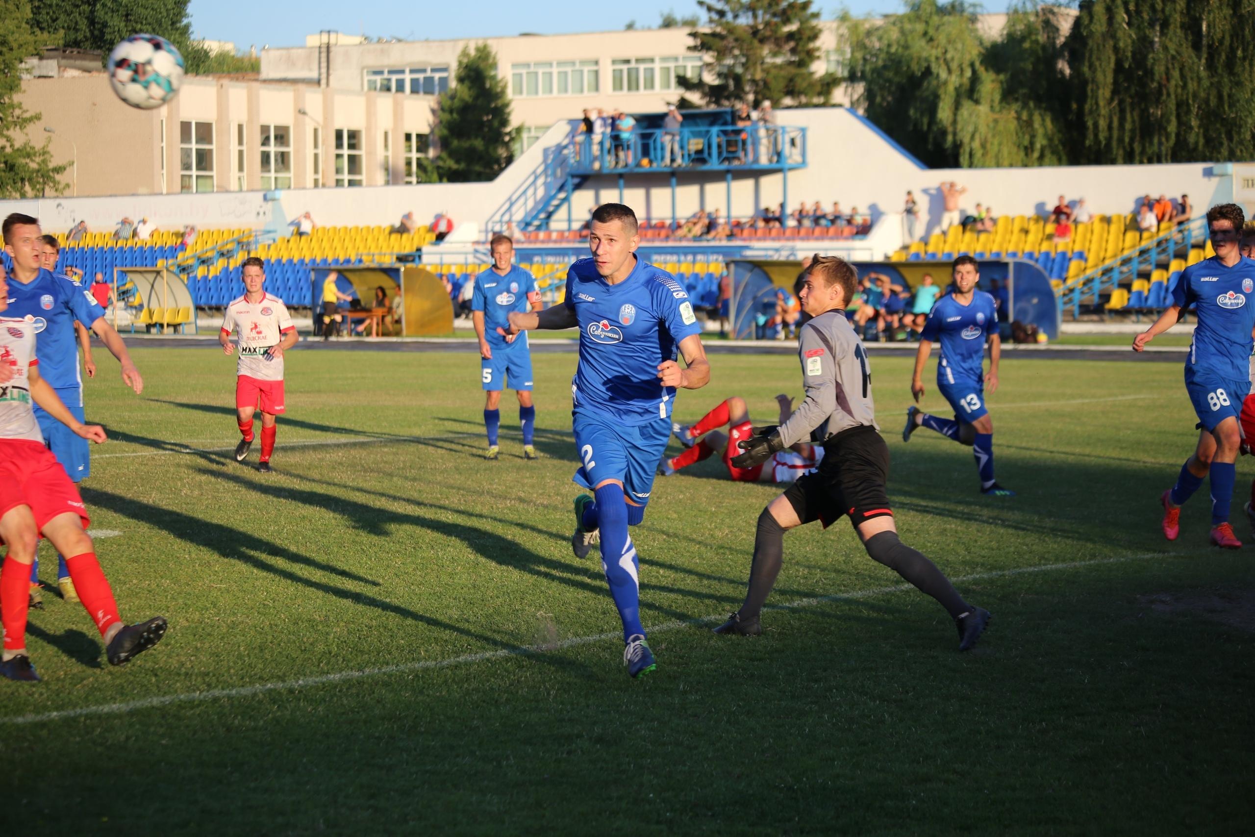 Футбольный клуб «Лида» в заключительном матче чемпионата страны в первой лиге сыграл вничью.