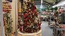 Новогодние тренды/как нарядить елку 2020/цены на живые и искусственные елки во Франции