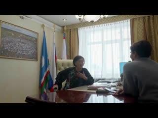 Сардана Авксентьева о картине в кабинете