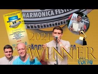 Победитель конкурса Pärnu Harmonica Festival 2021