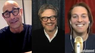 """Колин Фёрт и Стенли Туччи """"Сверхновая"""" (Supernova) интервью для The Awardist  Entertainment Weekly"""