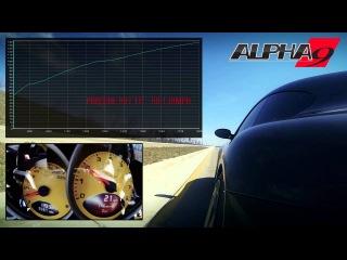 Alpha 9 Porsche 997TT Performance Package:  second 60-130mph - 93 Octane Pump Gas