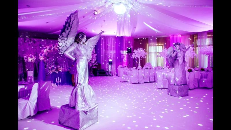 Живые статуи Ангелы Шоу проект Самум Нижневартовск Сургут Радужный Мегион Стрежевой