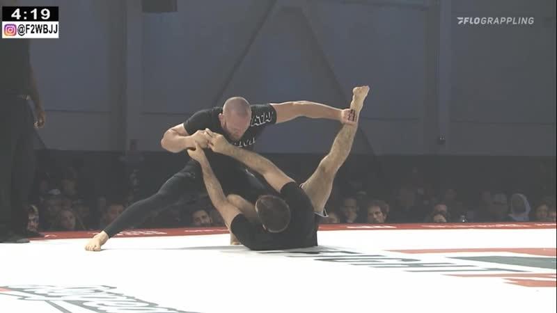 Josh Hinger vs Murilo Santana Fight 2 Win 131 bjf grappling