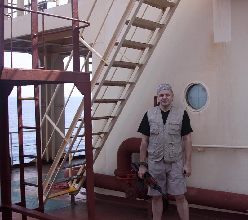 Работа в Индийском океане и в Красном море в рамках анти-пиратской компании