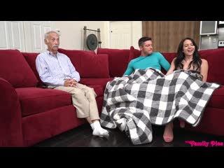 Riley Jean - Dont Wake Grandpa [All Sex, Hardcore, Blowjob, Artporn]