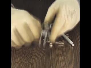 Съемник подшипников из двух рожковых ключей, сделанный своими руками