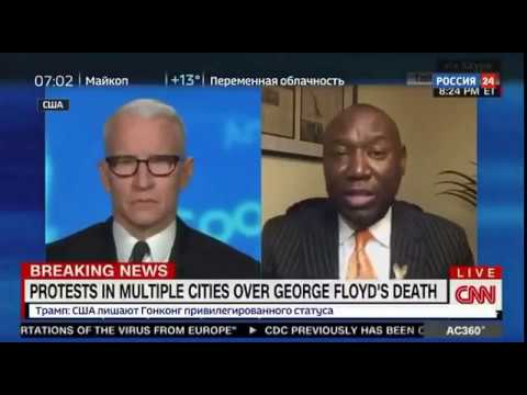 Протесты в США набирают обороты Штаб квартира CNN была разгромлена в Атланте рядом с Белым домом