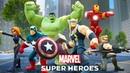 Marvel Мстители Disney Infinity 2.0 Железный человек прохождения на русском Полная версия