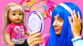 Disney princess makeup for baby doll - Disney princesses costumes & dolls videos for kids.