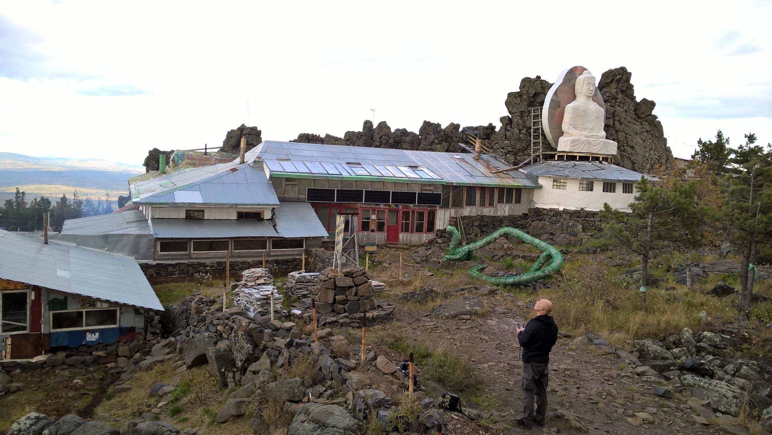 Качканарский монастырь среди скал
