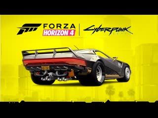 Forza Horizon 4 | Cyberpunk 2077 - 2058 Quadra Turbo-R V-TECH