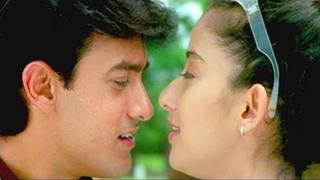 Mera Mann - Aamir Khan, Manisha Koirala, Alka Yagnik, Udit Narayan, Mann Song
